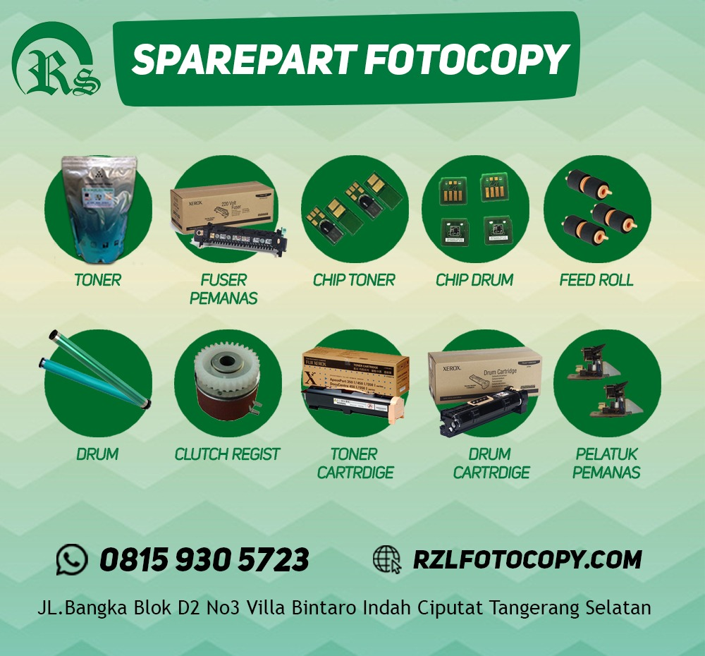 Sparepart Fotocopy